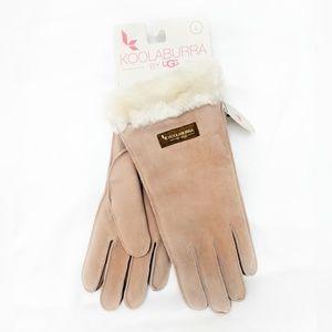 NWT Koolaburra | Pink Water-Resistant Suede Gloves